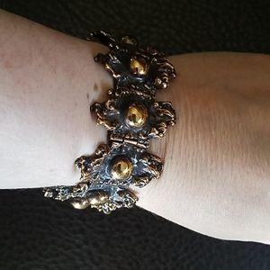 VTG P Sarpaneva mid century brutalist bracelet